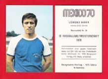 Hertha Berlin Lorenz Horr West Germany 39